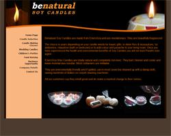Benatural Soy Candles