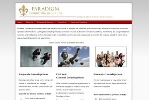 Paradigm Consulting - Corporate, Domestic, Civil and Criminal Investigations