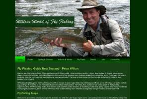Peter Wilton Fly Fishing Guide Taupo New Zealand